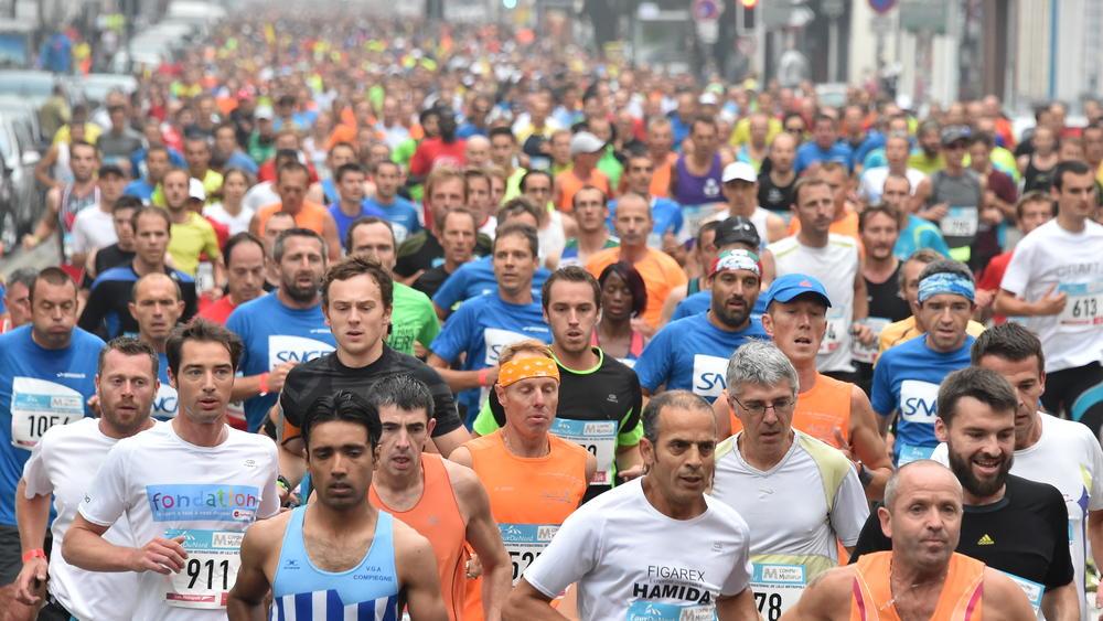 Semi marathon de la braderie de Lille 2014 Photo Patrick DELECROIX. La Voix du Nord